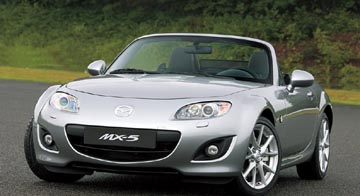 The 2010, 28 mpg, MX-5 Miata