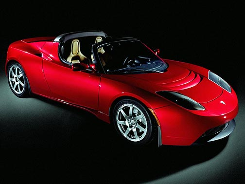 Tesla Roadster: about to go extinct