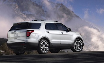 2011 Ford Explorer side