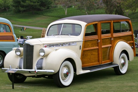 1940 Packard woody