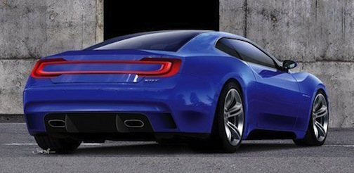 SRT Barracuda, rear