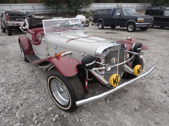 1929 Mercedes-Benz kit car