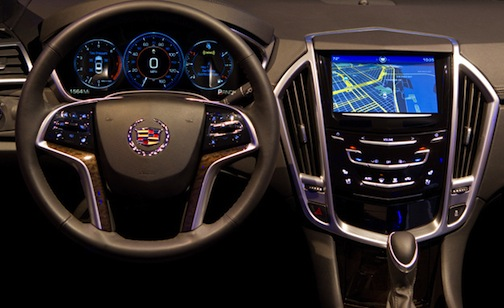 Cadillac XTS CUE display