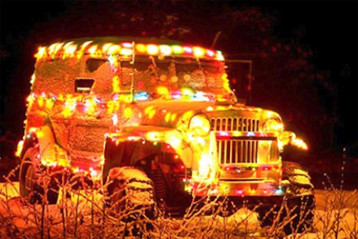 Christmas Car Decorations.The Best Christmas Decorations For Cars