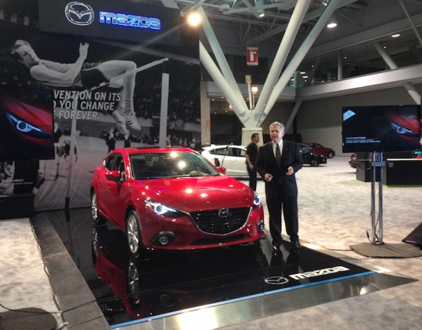 Mazda presents at the New England Int'l Auto Show