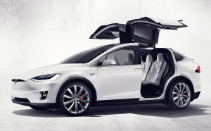 Tesla Model X EV SUV photo
