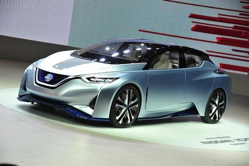 Does the NIssan IDS concept preview the next Leaf?