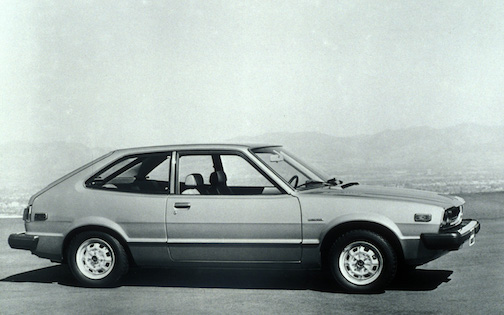 1976 Honda Accord Hatchback
