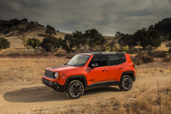 2016 Jeep® Renegade Trailhawk
