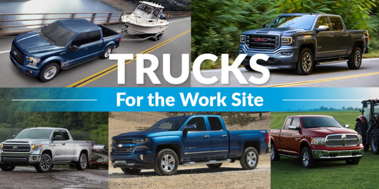 Top 5 trucks for the worksite